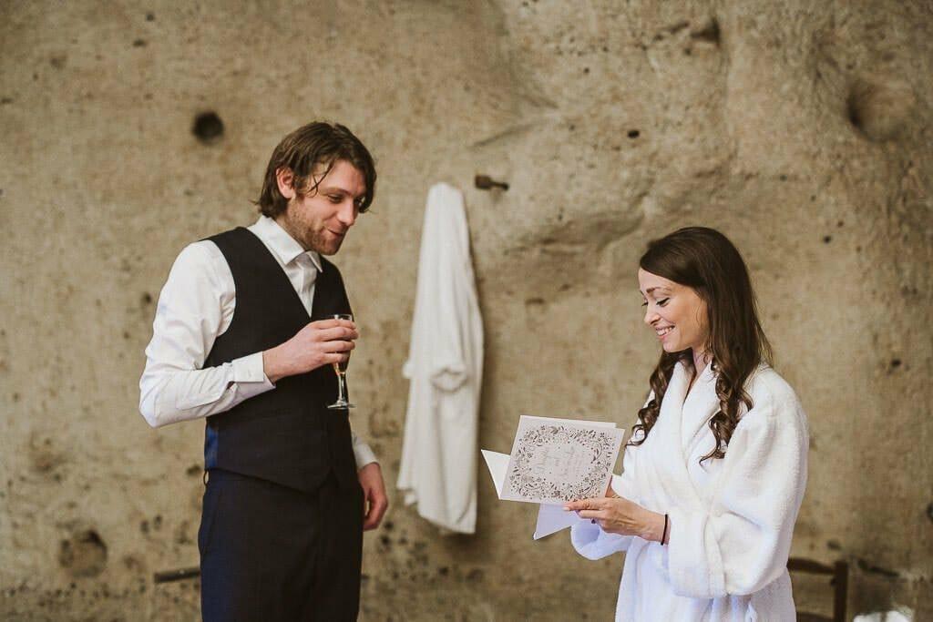 preparazione sposa sposo