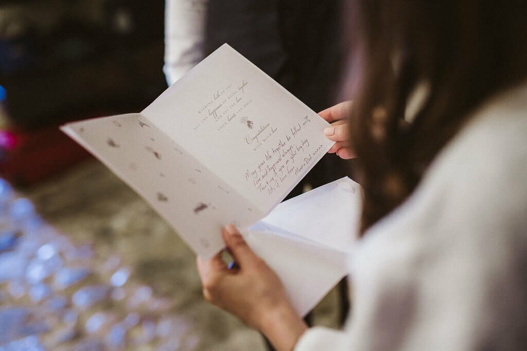 lettera per la sposa