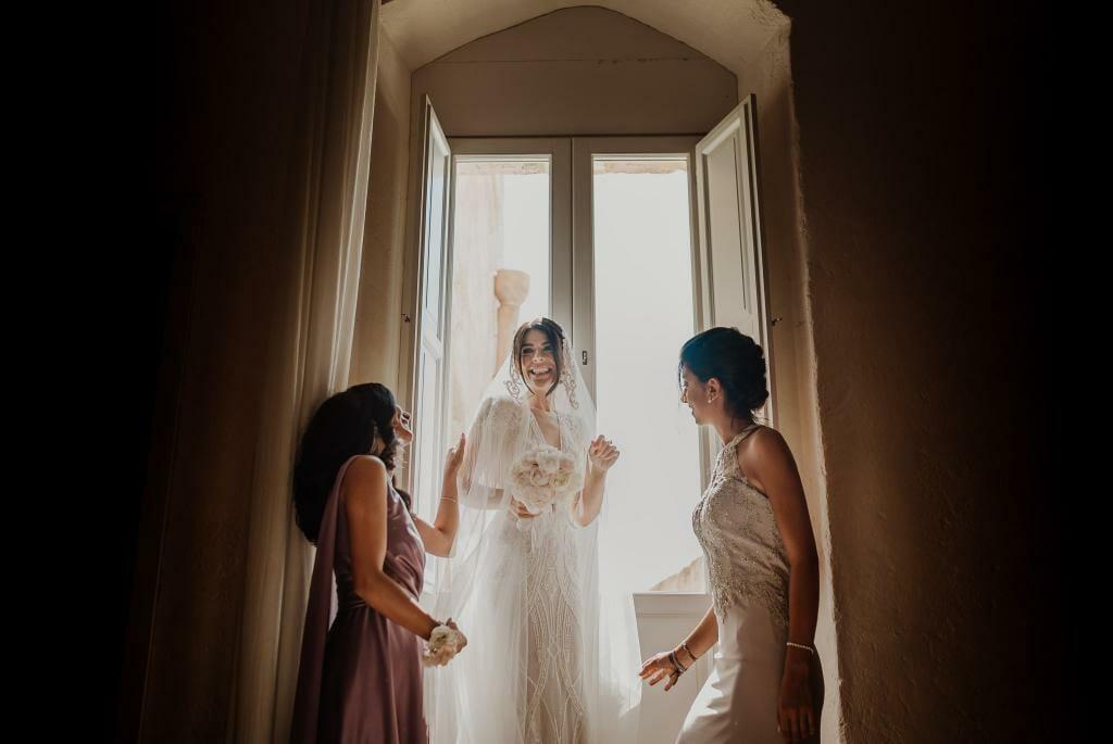 ritratto sposa masseria matera