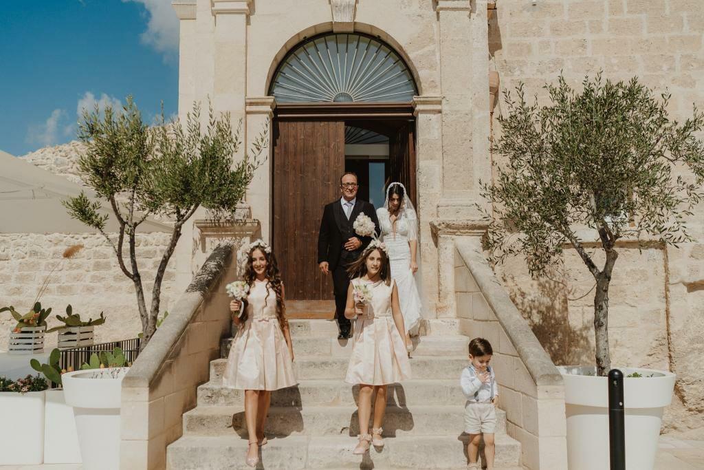 uscita sposa masseria fortificata san francesco matera