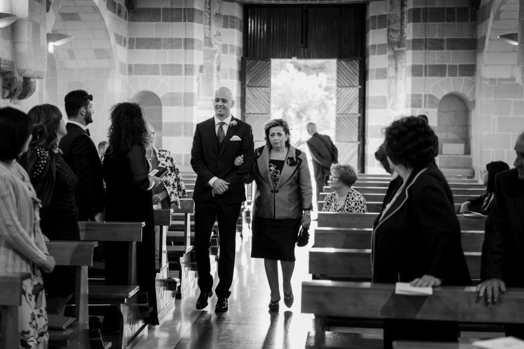 entrata sposo chiesa Picciano