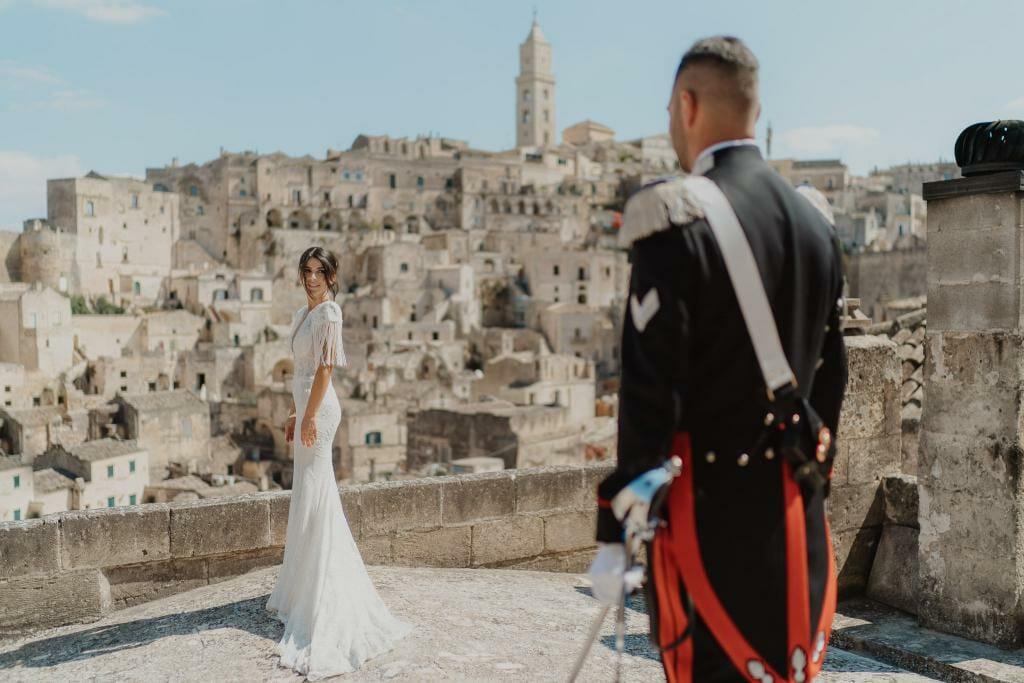 matrimonio nei Sassi di Matera