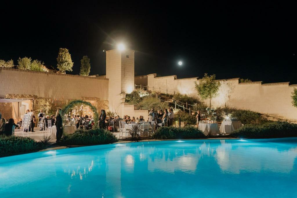 piscina masseria fortificata san francesco matera