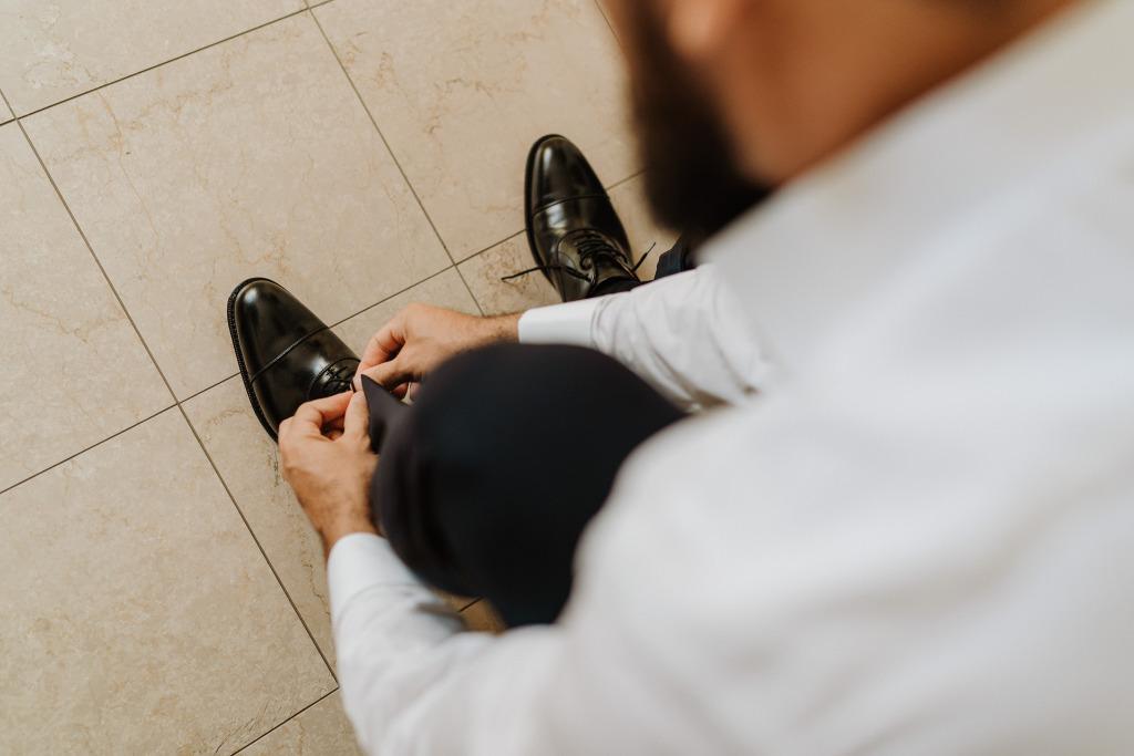 scarpe uomo sposo