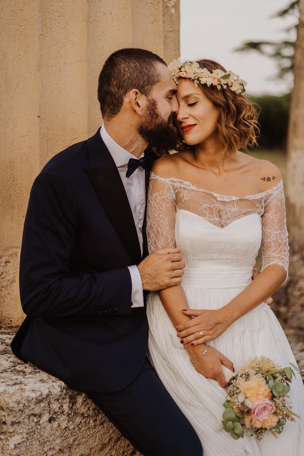 momento intimo degli sposi