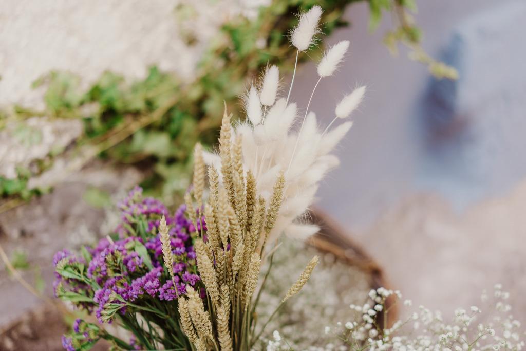 dettagli allestimento fiori matrimonio